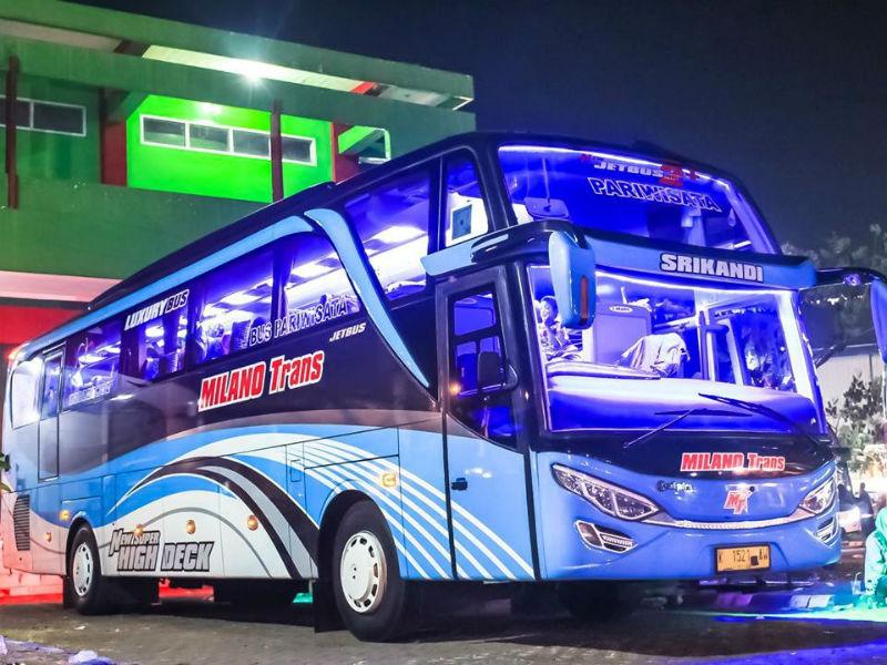 Sewa Bus Pariwisata Surabaya - Milano Trans