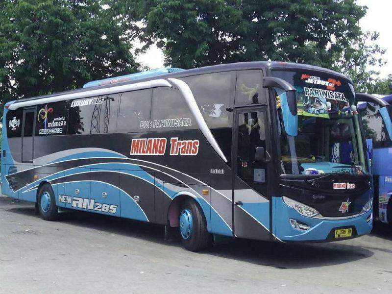 Sewa Bus Sidoarjo - Milano Trans