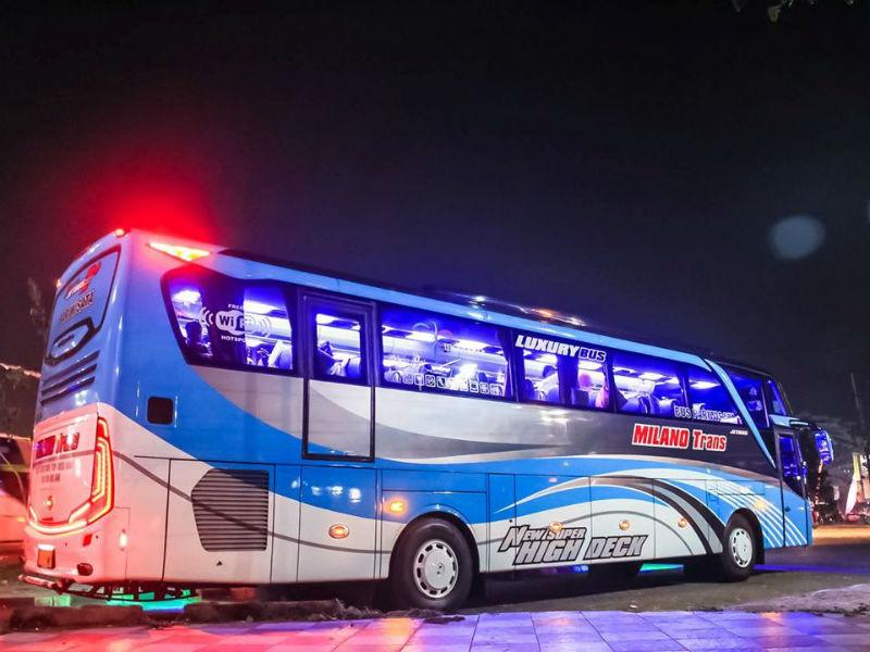 Sewa Bus Surabaya - Milano Trans