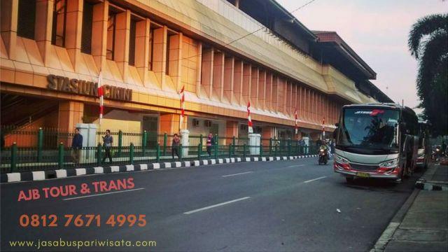 Sewa Bus Drop Jemput Stasiun di Jakarta