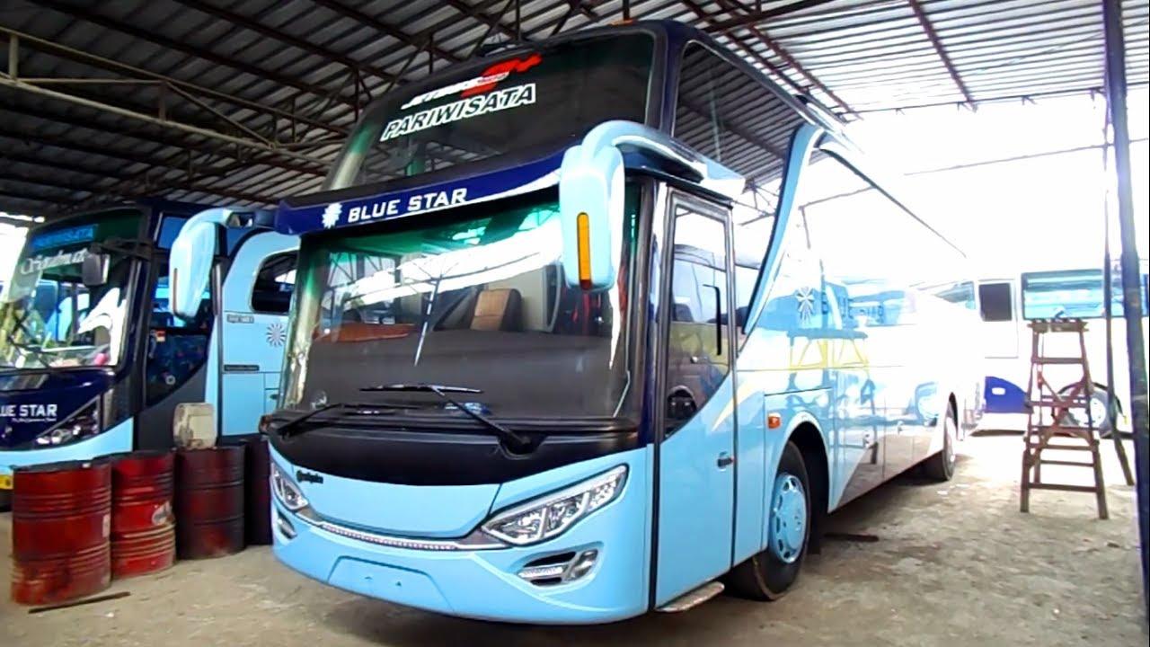 Jumlah armada cukup banyak - Alasan Memilih Blue Star sebagai Bus Perjalanan Anda