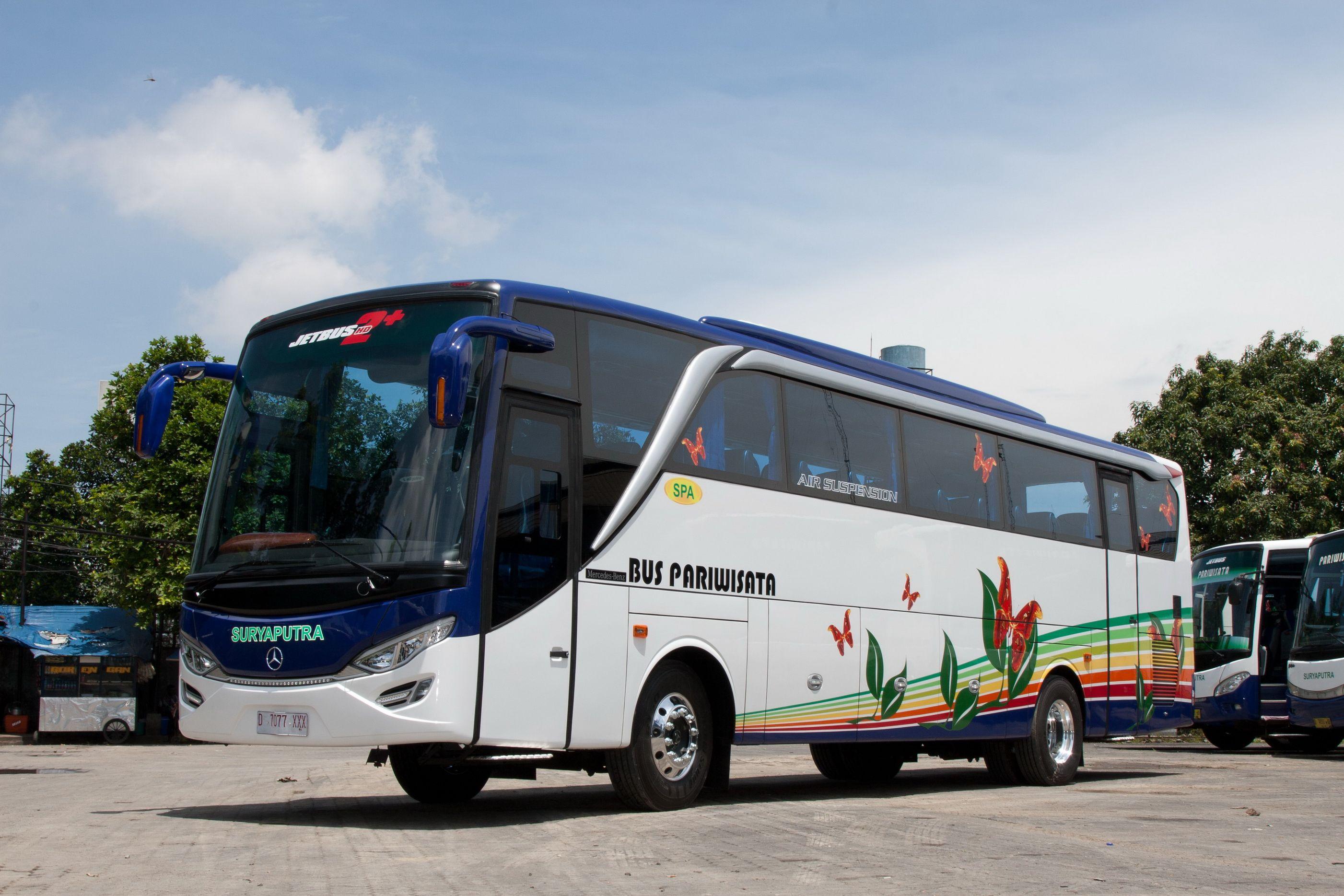 Big Bus - Mengenal Tipe dan Jenis Bus Pariwisata dari Berbagai Otobus di Indonesia