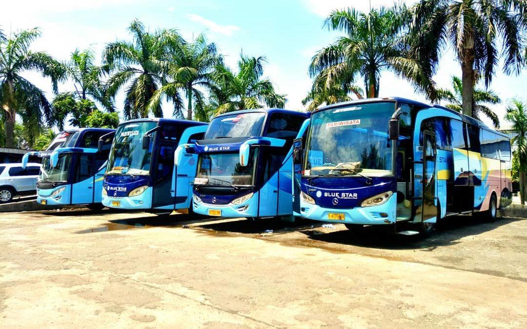 Traveling Seru dengan Bus Pariwisata Blue Star