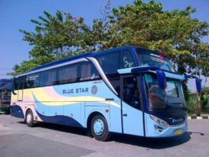 Mengenal bus pariwisata Blue Star - Traveling Seru dengan Bus Pariwisata Blue Star
