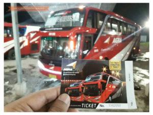 Harga Tiket Lebaran Bus Agra Mas Tahun 2018