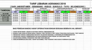 jasabuspariwisata-tarif-tiket-mudik-lebaran-bus-agra-mas-tahun-2018