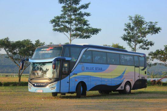 Bus Pariwisata Blue Star - Memiliki Rencana Liburan Bersama Rombongan Kantor? Cek Dulu Harga Sewa Bus Pariwisata Blue Star Berikut