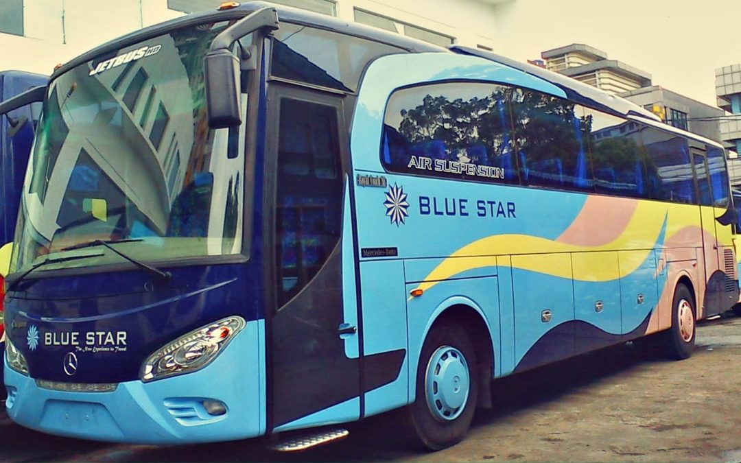 Memiliki Rencana Liburan Bersama Rombongan Kantor? Cek Dulu Harga Sewa Bus Pariwisata Blue Star Berikut