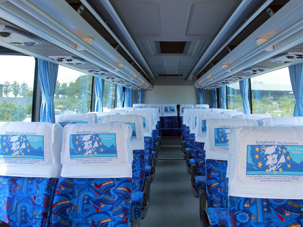 Fasilitas Bus Symphonie - Mengenal Bus Symphonie, Bus Pariwisata Eksklusif dari Nusantara