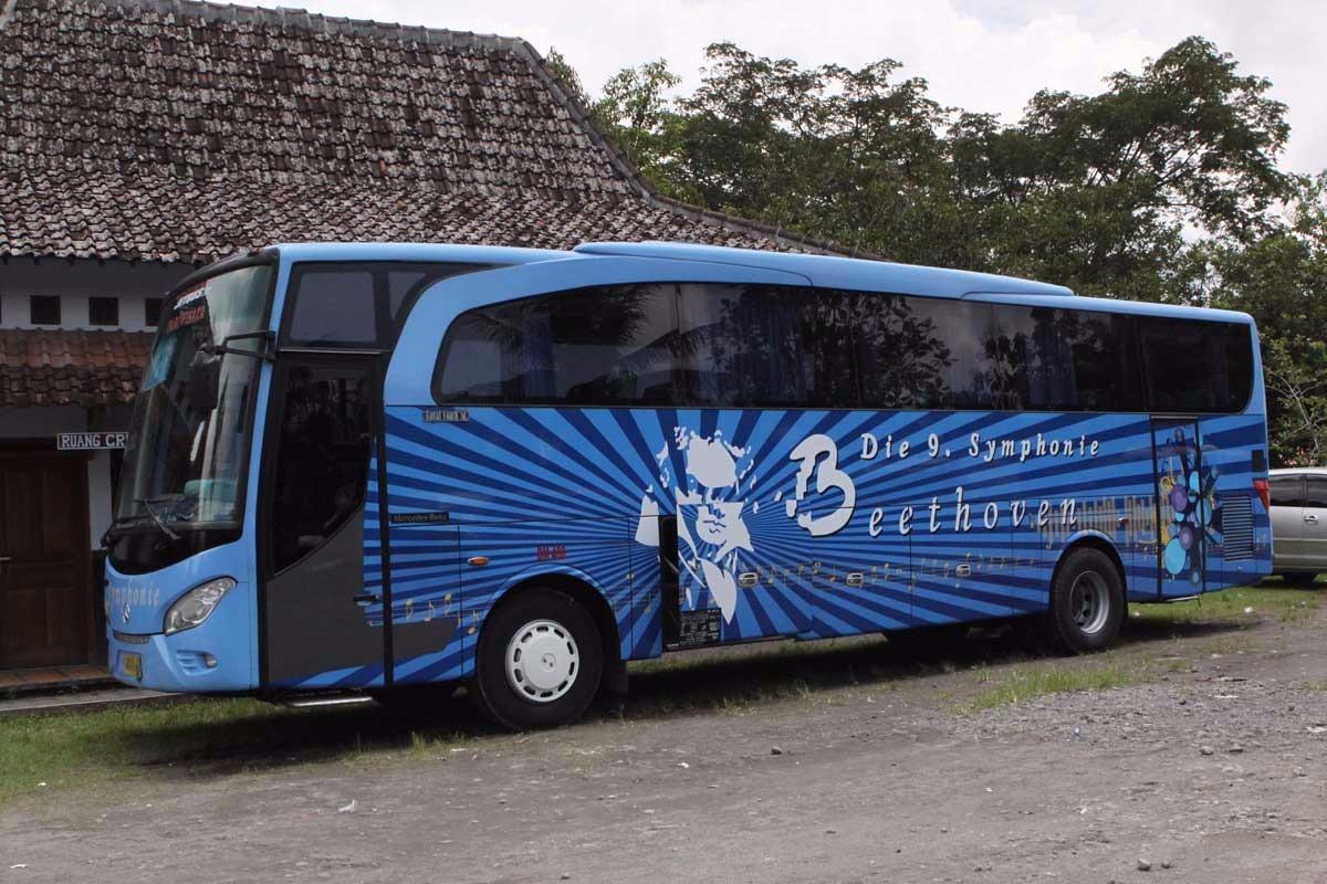 Sewa Bus Symphonie dengan Harga Terbaik - Mengenal Bus Symphonie, Bus Pariwisata Eksklusif dari Nusantara