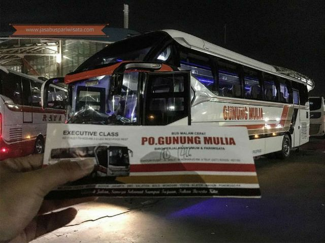 Harga Tiket Lebaran Bus Gunung Mulia 2018