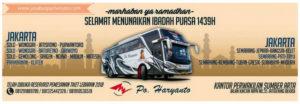 Harga Tiket Lebaran Bus Haryanto Tahun 2018 - Ramadhan
