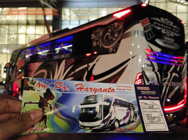 Harga Tiket Lebaran Bus Haryanto Tahun 2018