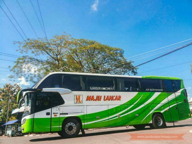 Harga Tiket Lebaran Bus Maju Lancar 2018 - SHD