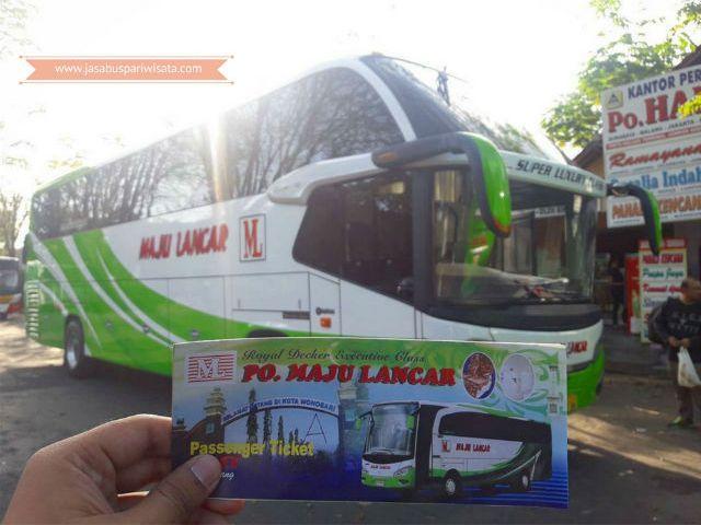 Harga Tiket Lebaran Bus Maju Lancar 2018
