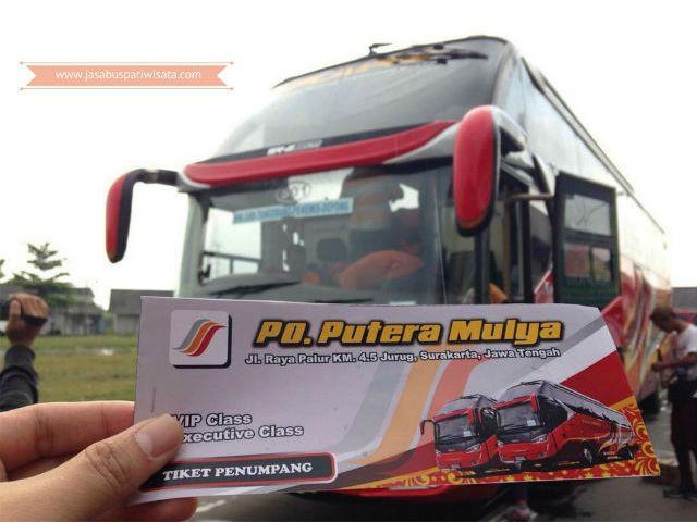 Harga Tiket Lebaran Bus Putera Mulya 2018 - Tiket