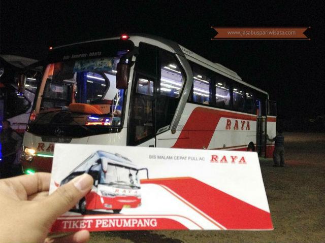 Harga Tiket Lebaran Bus Raya Tahun 2018 - Tiket