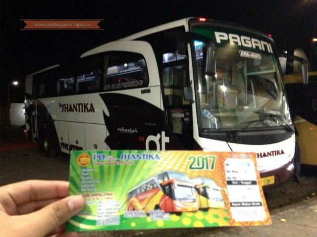 Harga Tiket Lebaran Bus Shantika Tahun 2018