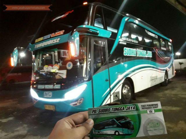 Harga Tiket Lebaran Bus Sudiro Tungga Jaya