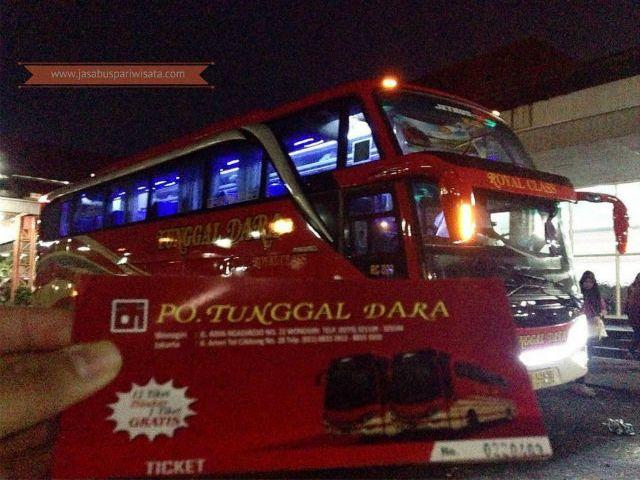 Harga Tiket Lebaran Bus Tunggal Dara 2018