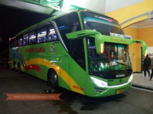Harga Tiket Mudik Bus Gunung Harta 2018 - Scania K410 iB