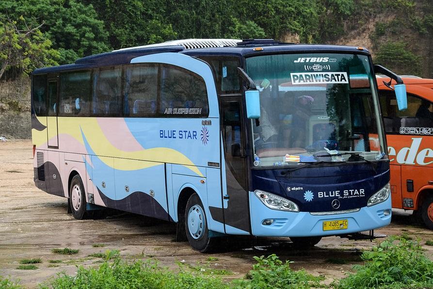 Harga Sewa Bus Pariwisata Blue Star - Memiliki Rencana Liburan Bersama Rombongan Kantor? Cek Dulu Harga Sewa Bus Pariwisata Blue Star Berikut
