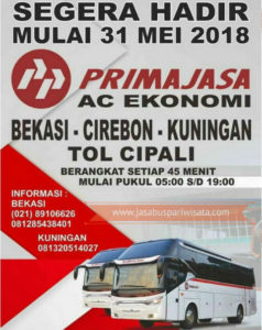 Rute Baru Bus Primajasa Kuningan Cirebon - Informasi