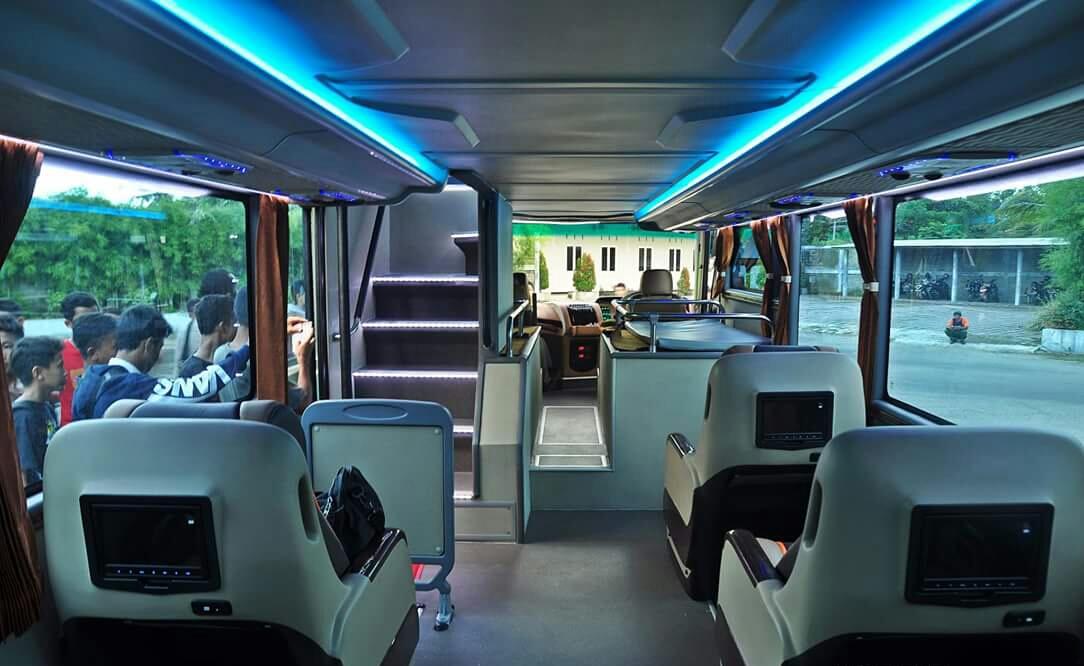 Fasilitas Lain-lain - Ini 5 Fasilitas yang Tersedia di Bus Termewah di Indonesia