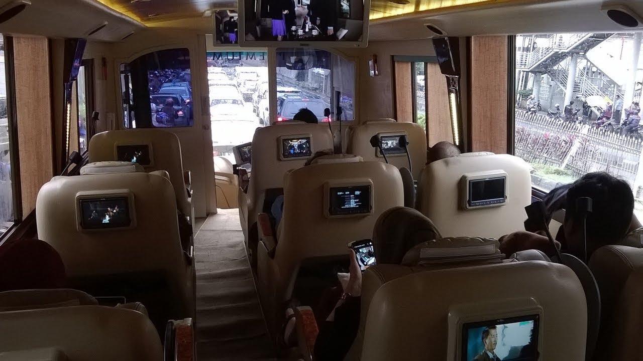 Perlengkapan Hiburan dan entertainment - Ini 5 Fasilitas yang Tersedia di Bus Termewah di Indonesia
