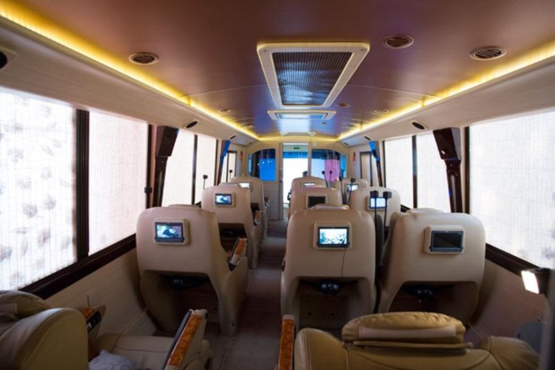 Ini 5 Fasilitas yang Tersedia di Bus Termewah di Indonesia