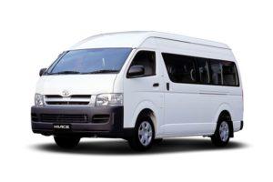 Hiace Commuter - Liburan Hemat Pakai Layanan Sewa Hiace Jakarta Bandung Bermesin Diesel