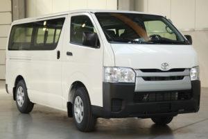 Toyota HiAce Standar - Mengintip Harga Rental Hiace Jakarta Selatan