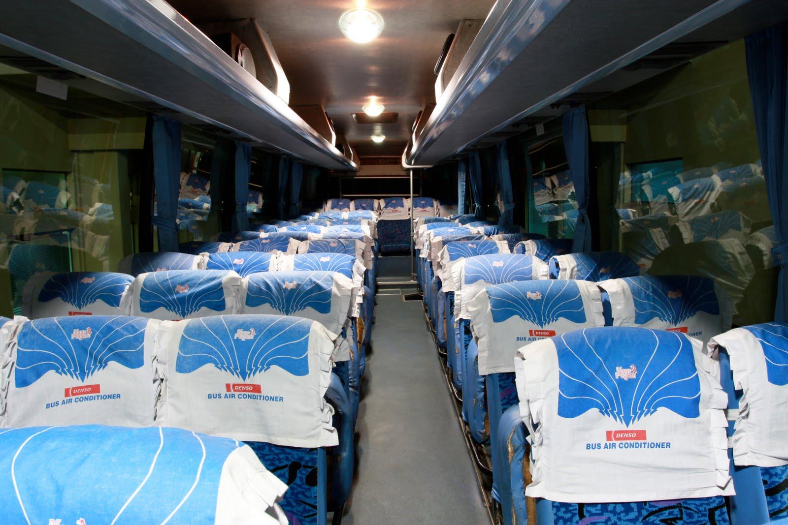 Tempat Duduk - Bus Eksekutif vs Kereta Eksekutif, Pilih Mana?