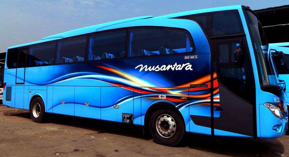 PO Nusantara - Ini 5 Daftar Bus Premium yang Wira-Wiri di Indonesia