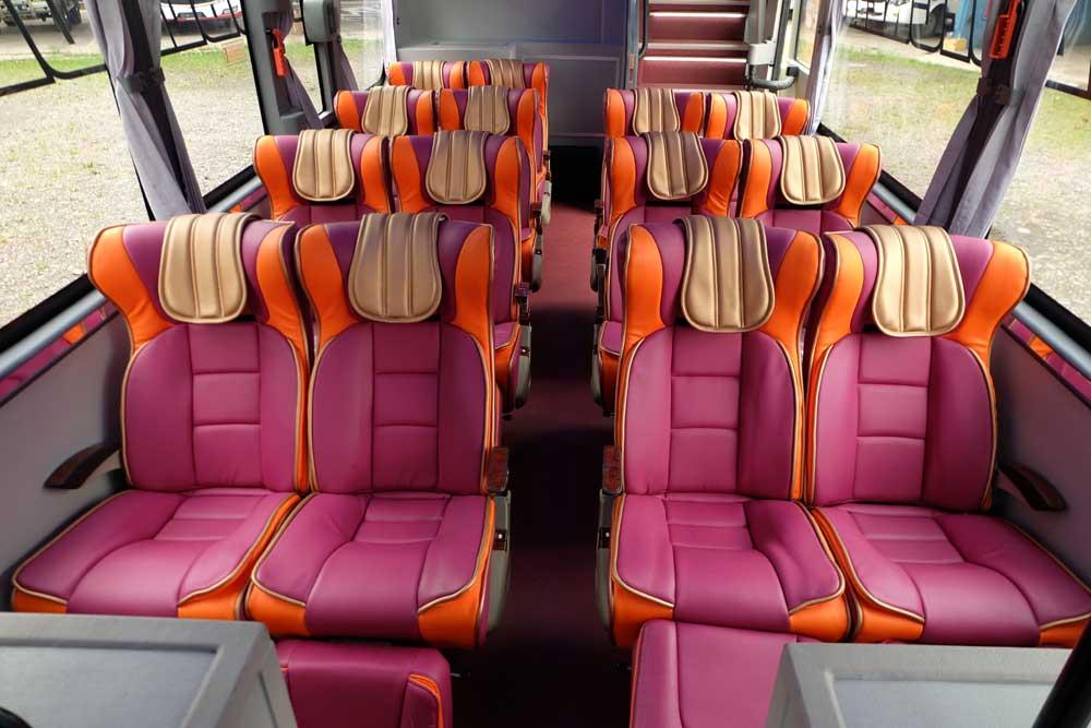 Kenyamanan - 5 Keunggulan Bus VIP ketimbang Bus Biasa