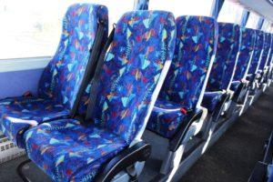 Reclining Seats - 7 Fasilitas Luxury Bus Pariwisata yang Bikin Perjalanan Semakin Nyaman