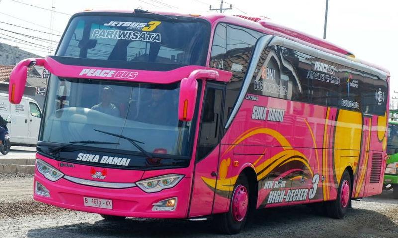 Bus Pariwisata SHD - Bus Suka Damai