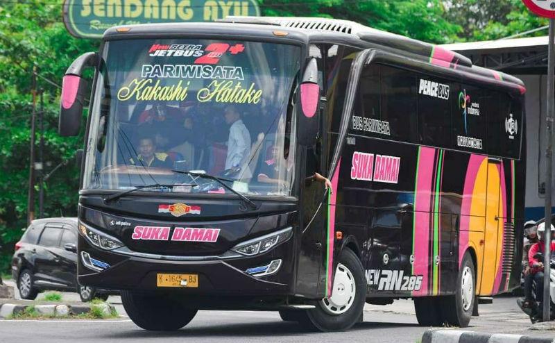 Sewa Bus - Bus Suka Damai
