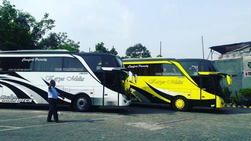 Sewa Bus Pariwisata Boyolali - Bus KARYA MULIA