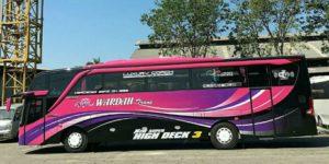 Sewa Bus Pariwisata Jember - Bus WARDAH TRANS