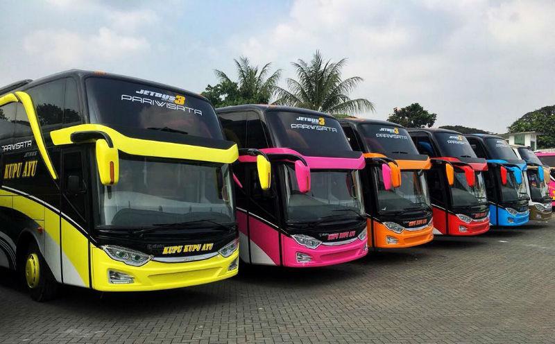 Sewa Bus Purwokerto - Bus Kupu Kupu Ayu