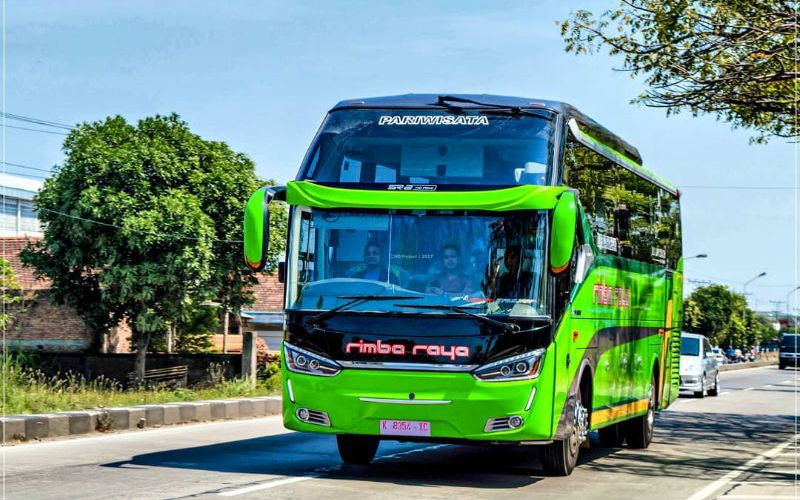 Bus Pariwisata Jepara - Bus Rimba Raya