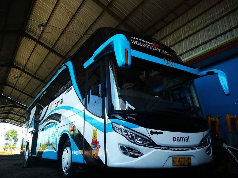 Sewa Bus Klaten - Bus Damai