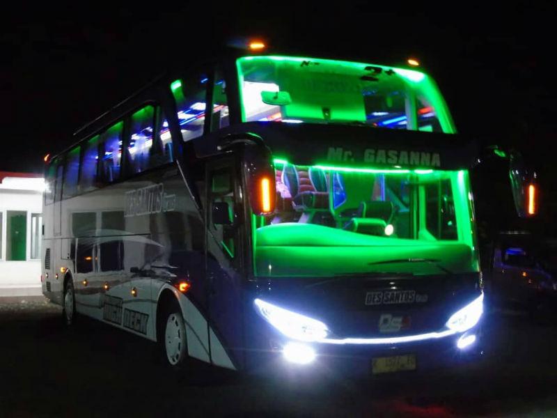 Sewa Bus Lamongan - Bus Des Santos Trans