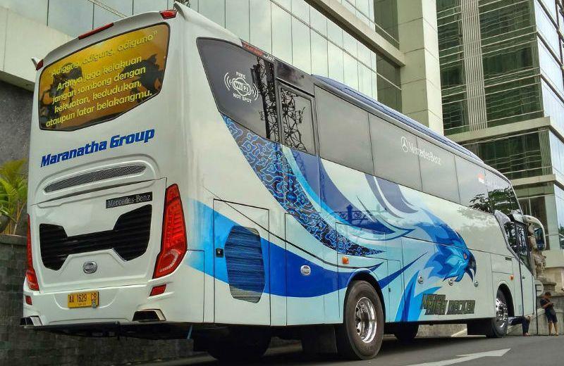 Sewa Bus Magelang - Bus Maranatha