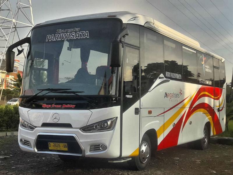 Sewa Bus Medium Bandung - Bus Mega Trans Holiday