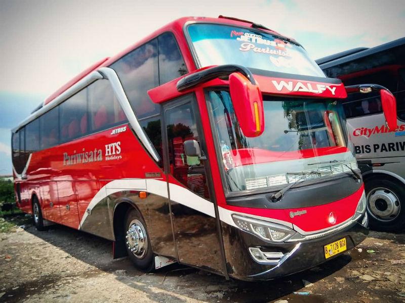 Sewa Bus Pariwisata Bandung - Bus HTS Holidays