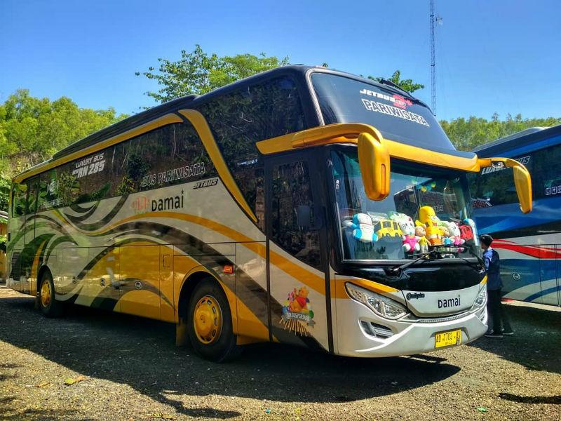 Sewa Bus Pariwisata Klaten - Bus Damai