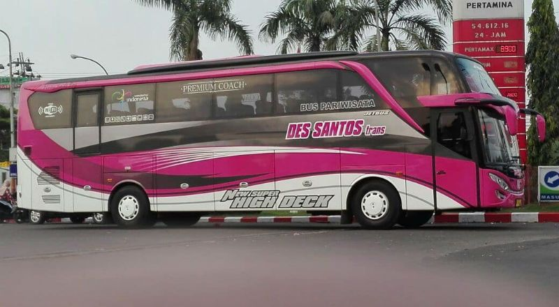 Sewa Bus Pariwisata Lamongan - Bus Des Santos Trans