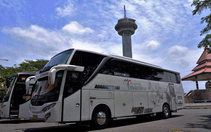 Sewa Bus Pariwisata Magelang - Bus Maranatha